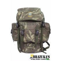 Mochila Pqd Grande - Camuflada Exercito Brasileiro