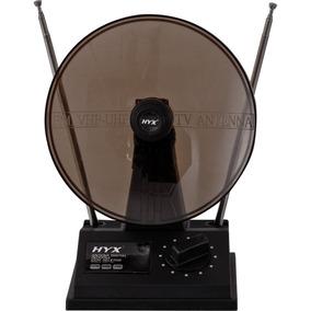 Antena Uhf/vhf/fm Interna Uvfi-101 Preta - Hyx Tv Digital