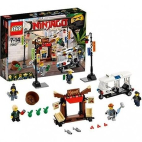 Lego Ninjago Perseguição Na Cidade De Ninjago 70607