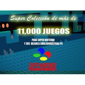 Colección Completa De Juegos Super Nintendo Incluye Emulador