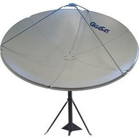 Antena Parabólica Gigasat Gs150 1,50m Banda Ku E C