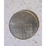 Antiga - Moeda De Portugal De 100 Escudos 1990
