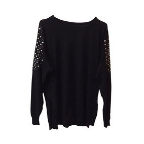 Sweater Para Mujer Con Tachas En Los Hombros