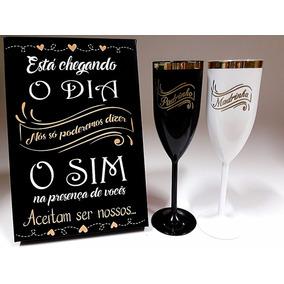 Caixa Convite Madrinha Padrinho Noivado Casamento Lembrança