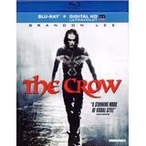 The Crow El Cuervo Brandon Lee Pelicula Blu-ray + Dig Uv