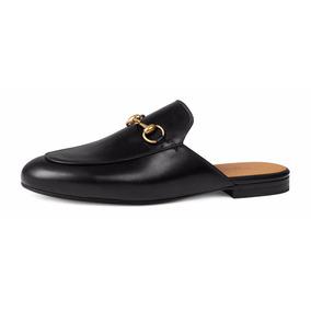 Sapatilha Sapato Mule Gucci Masculino / Feminino Importado