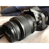 Camara Nikon D5200 Con Menos De 2000 Disparos