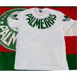 Camisa Básica Branca Palmeiras - Colecionador Retrô