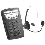 Telefone Fixo Com Fio Fone Headset Maxtel Rj11 Telemarketing