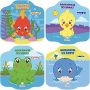 Coleção De Livros Infantis Amiguinhos Do Banho 4 Títulos