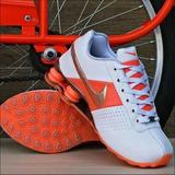 f5ee4a2692cc0 Tênis Nike Shox Classic 4 Molas Feminino Promoção Original