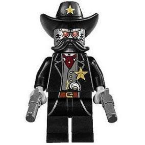 La Película De Lego Minifigure Sheriff No Un Robot
