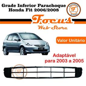 Grade Inferior Do Parachoque Honda Fit 2006 2007 2008