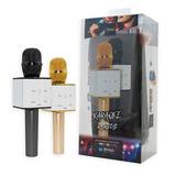 Micrófono Karaoke Parlante Inalámbrico Estuche - Mobilehut