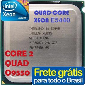 Processador Intel Xeon E5440 Lga 775 Igual Core 2 Quad Q9550