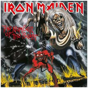 Iron Maiden The Number Of The Beas 180g Lacrado Prontaentreg