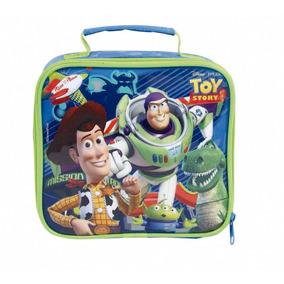 Lancheira Toy Story Em Poliéster, Azul- Dermiwil