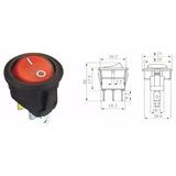 10x Botão Tictac Gangorra Interruptor Chave Led 12v Carro