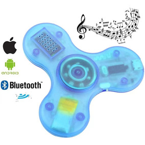 Fidget Spinner Con Música Bluetooth Luces Led - Toptecnouy ®