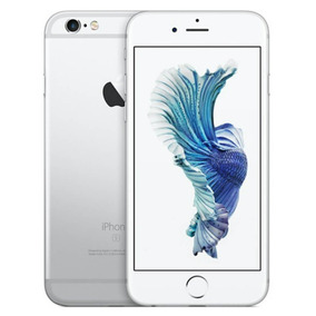 Iphone 6s Apple 16gb Prata Tela Retina Hd 4,7 Ios 9 4g E C