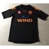 Camisa As Roma Kappa M Futebol Calcio Away