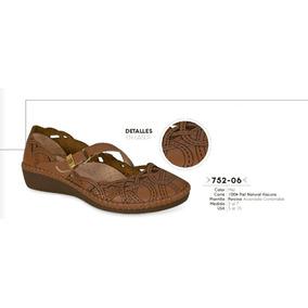 Huaraches Color Miel Linea Confort 752-06 Cklass