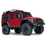 Traxxas Trail Rock Crawler W/land Rover Defender Body (red)
