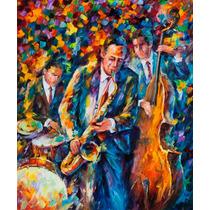 The Lovely Trio - Impresión En Lienzo. Por Leonid Afremov