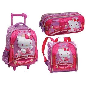 Kit Mala De Carrinho Hello Kitty Ballet Pacific Original