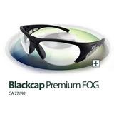 Oculos Proteção Msa Blackcap Premium Fog 100% Antiembaçante