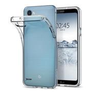 Funda Spigen LG Q6 Liquid Cristal Transparente