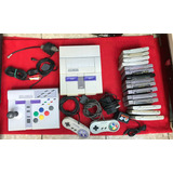 Super Nintendo + 15 Juegos + Accesorios Snes Nes Sega Atari