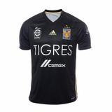 Oferta Jersey Original Tigres Uanl adidas Gala Negra 2017