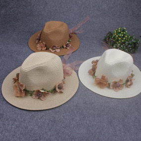 Sombrero Hawaiano Con Flores Y - Joyas y Relojes en Mercado Libre México 1011fa13d6c