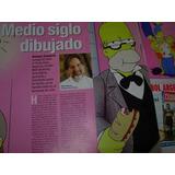 Matt Groening Homero Simpson Dibujante 3 Pg Clipping