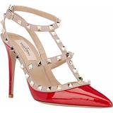 Sapato Valentino Rockstud 10 Cm Original Na Caixa Em 6 Cores