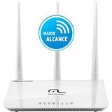 Roteador Wireless 3 Antenas C/ Função Wisp Sinal Via Rádio