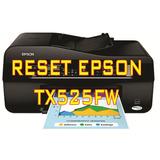 Reset Impressora Epson Tx525fw + Frete Grátis