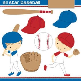 Kit Imprimible Beisbol 1 Imagenes Clipart