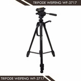 Trípode Semi-profesional Para Videocamaras Wt-3717