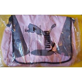 Mochila Puma Big Cat Shoulder Bag Pink Gym Ejercico 069132