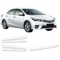 Kit Bumper Protetor Parachoque Transparente Toyota Corolla