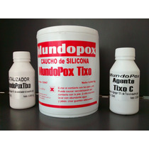 Caucho De Silicona Tixotrópico Mundopox Tixo C X 1 Kg.