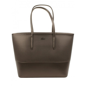 Bolsa Lacoste Womens Special Edition Chantaco Leather Tote