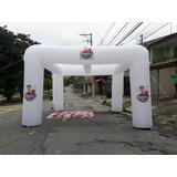 Tenda Inflavel 4 X 4m A Pronta Entrega Com Sua Logo Impressa