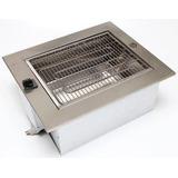 Churrasqueira De Embutir Elétrica 110/127v Aço Inox-prática