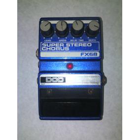 Chorus Super Stereo, Fx68, Y Yamaha; Pedales Efectos Sonido