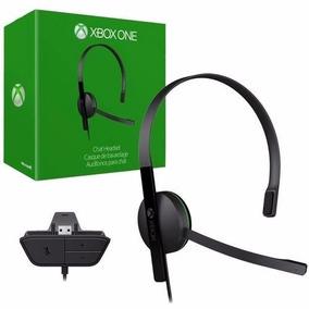 Fone Xbox One Headset Original Com Adaptador + Brinde