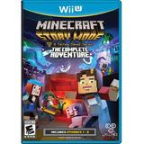 Minecraft Story Mode - La Aventura Completa- Wii U