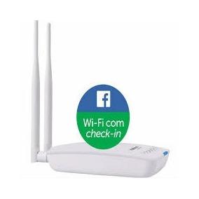 Roteador Intelbras Hotspot 300 Wifi Facebook Ap Com Check-in